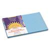 CONSTRUCTION PAPER, 58LB, 12 X 18, SKY BLUE, 50/PACK