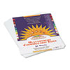 CONSTRUCTION PAPER, 58LB, 9 X 12, BRIGHT WHITE, 50/PACK