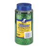 Spectra Glitter, .04 Hexagon Crystals, Green, 16 oz Shaker-Top Jar