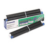 <strong>Panasonic®</strong><br />KX-FA91 Thermal Film Roll, 80 Page-Yield, Black, 2/Box