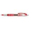 Paper Mate® Liquid Flair Porous Point Stick Pen, Red Ink, Extra Fine, Dozen PAP31002BH