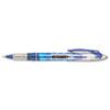 Paper Mate® Liquid Flair Porous Point Stick Pen, Blue Ink, Extra Fine, Dozen PAP31003BH