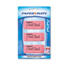Paper Mate® Pink Pearl Eraser, Large, 3/Pack PAP70501