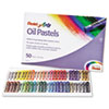 Oil Pastel Set With Carrying Case,45-Color Set, Assorted, 50/Set