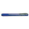 Clic Eraser Pencil-Style Grip Eraser, Blue