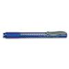 Pentel® Clic Eraser Pencil-Style Grip Eraser, Blue PENZE22C
