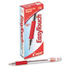 EasyTouch Ball Point Stick Pen, Red Ink, 1mm, Dozen