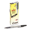 Better Stick Ballpoint Pen, Fine 0.7mm, Black Ink, Smoke Barrel, Dozen