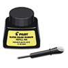 Pilot® Jumbo Marker Refill Ink, For Permanent Markers, 1 oz Ink Bottle, Black PIL48500