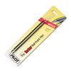 Refill, Non-retract Better/BetterGrip/EasyTouch Ballpoint, Fine, Red, 2/Pack