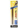 Pilot® Refill, Non-retract Better/BetterGrip/EasyTouch Ballpoint, Med, Blue, 2/Pack PIL77222
