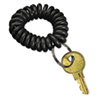 <strong>SecurIT®</strong><br />Wrist Key Coil Wearable Key Organizer, Flexible Coil, Black