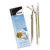 PM Company® Refills for Preventa, MMF Kable & Sentry Counter Pens, Medium Pt, Blue, 2/Pack PMC05077