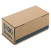 <strong>Iconex&#8482;</strong><br />Corrugated Cardboard Coin Storage w/Denomination Printed On Side, Blue