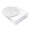 Boardwalk® Ultra High-Speed Floor Pads, Natural Hair/Polyester, 20-Inch Diameter, 5/Carton BWK4020NAT