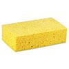 Boardwalk® Large Cellulose Sponge, 4 3/10 x 7 4/5, Yellow, 24/Carton BWKCS3