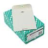 Quality Park™ Clasp Envelope, 6 1/2 x 9 1/2, 28lb, Executive Gray, 100/Box QUA38563