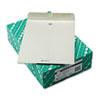 Quality Park™ Clasp Envelope, 10 x 13, 28lb, Executive Gray, 100/Box QUA38597
