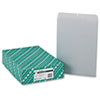 Quality Park™ Clasp Envelope, 12 x 15 1/2, 28lb, Executive Gray, 100/Box QUA38610