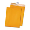 Quality Park™ 100% Recycled Brown Kraft Redi-Strip Envelope, 9 x 12, Brown Kraft, 100/Box QUA44511