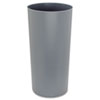 Rubbermaid® Commercial Commercial Rigid Liner w/Rim, Round, Plastic, 22gal, Gray - FG355200GRAY