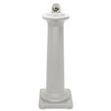 GroundsKeeper Tuscan Receptacle, 13 x 13 x 38 3/8, Sandstone