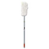 "Rubbermaid® Commercial HiDuster Dusting Tool with Straight Lauderable Head, 51"" Extension Handle RCPT11000GY"