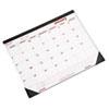 Brownline Monthly Deskpad Calendar, Chipboard, 22 x 17, 2017 REDC1731
