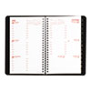 Brownline Weekly Appointment Book - Julian - Weekly, Daily - 1 Year - January 2017 till December 201 REDCB100BLK