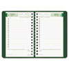 Brownline EcoLogix Daily Appointment Book - Julian - Daily - 1 Year - January 2017 till December 201 REDCB410WGRN