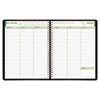 Brownline EcoLogix Weekly Appointment Book - Julian - Weekly - 1 Year - January 2017 till December 2 REDCB425WBLK