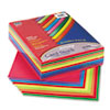 Pacon® Array Card Stock, 65 lb., Letter, Assorted Lively Colors, 250 Sheets/Pack PAC101199