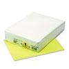 KALEIDOSCOPE MULTIPURPOSE COLORED PAPER, 24LB, 8.5 X 11, HYPER YELLOW, 500/REAM