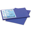 Pacon® Tru-Ray Construction Paper, 76 lbs., 12 x 18, Royal Blue, 50 Sheets/Pack PAC103049
