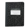 Roaring Spring® Marble Cover Composition Book, Wide Rule, 9 3/4 x 7 1/2, 60 Pages ROA77222