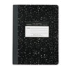 Roaring Spring® Marble Cover Composition Book, Wide Rule, 9 3/4 x 7 1/2, 100 Pages ROA77230