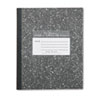 Roaring Spring® Marble Cover Composition Book, Wide Rule, 8 1/2 x 7, 48 Pages ROA77333