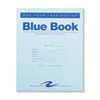 Roaring Spring® Exam Blue Book, Legal Rule, 8 1/2 x 7, White, 4 Sheets/8 Pages ROA77510