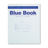 Roaring Spring® Exam Blue Book, Legal Rule, 8 1/2 x 7, White, 8 Sheets/16 Pages ROA77512