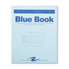 Roaring Spring® Exam Blue Book, Legal Rule, 8 1/2 x 7, White, 12 Sheets/24 Pages ROA77513