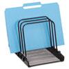 Rolodex™ Mesh Flip File Folder Sorter, Five Sections, Black, 10 1/4 x 7 1/2 x 7 1/2 ROL1742323