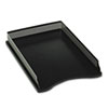 Rolodex™ Distinctions Self-Stacking Desk Tray, Metal/Black ROLE22615