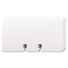Rolodex™ Plain Unruled Refill Card, 2 1/4 x 4, White, 100 Cards/Pack ROL67558