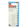 Redi-Tag® Side-Mount Self-Stick Plastic Index Tabs, 1 inch, White, 104/Pack RTG31000