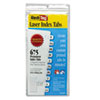 Redi-Tag® Laser Printable Index Tabs, 7/16 x 1, White, 675/Pack RTG39000