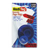 """Redi-Tag® Arrow Message Page Flags in Dispenser, """"Please Sign and Return"""", Red, 120 Flags RTG81344"""