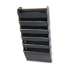"Rubbermaid Classic Wall File System Set - 7 Compartment(s) - 29.3"" Height x 13"" Width x 4"" Depth - W RUBL16663"