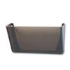 Rubbermaid® Stak-A-File Single Wall Pocket, Letter, Smoke RUB48721ROS
