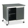 Safco® Deluxe Steel Machine Stand, One-Shelf, 32w x 24-1/2d x 30-1/4h, Black SAF1872BL