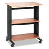 "Safco 1881MO Printer Stand - 3 x Shelf(ves) - 35"" Height x 29.5"" Width x 20"" Depth - Steel - Medium  SAF1881MO"